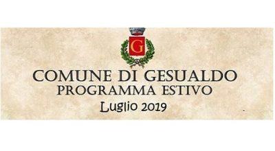 Programma estivo 2019