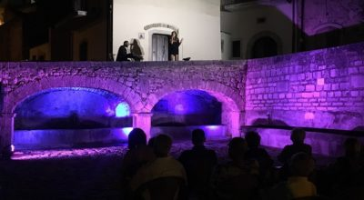 Piazza Canale, il rione si illumina con lo spettacolo dedicato a Lucio Dalla