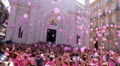 Monumenti in rosa per la prevenzione del tumore al seno