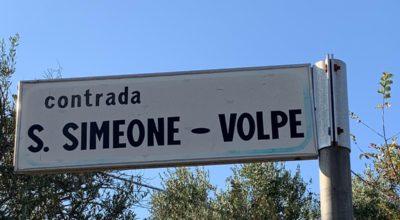 Contrada San Simeone-Volpe, al via i lavori di riqualificazione