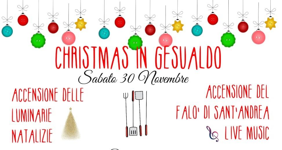 Gesualdo, il rito dei falò accende la magia del Natale