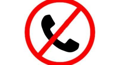 Avviso! Guasto linea telefonica di via Roma