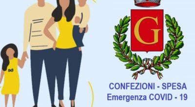 Buoni spesa emergenza Covid: avviso per i cittadini