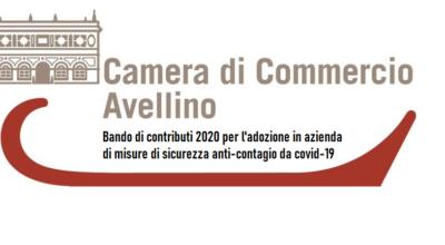 Camera Commercio Avellino: bando di contributi 2020 per l'adozione in azienda di misure di sicurezza anti-contagio da covid-19