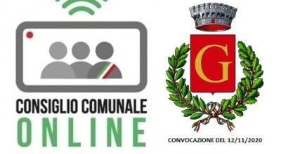 CONVOCAZIONE CONSIGLIO COMUNALE di Gesualdo del 12/11/2020 – in streaming