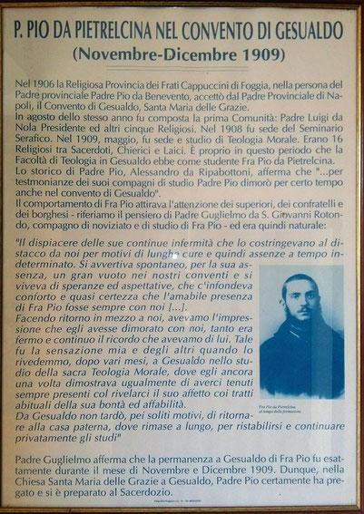 Padre Pio e Gesualdo