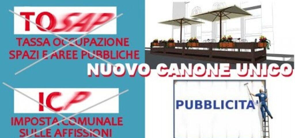 CANONE UNICO PATRIMONIALE (L. 160/2019)