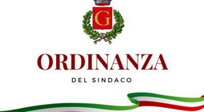 ORDINANZA SINDACALE N. 17/2020. MANUTENZIONE AREE UBICATE CENTRO URBANO