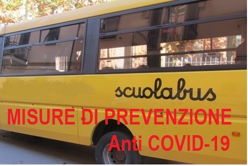 SERVIZIO TRASPORTO SCOLASTICO a.s. 2020/2021. AVVISO IMPORTANTE